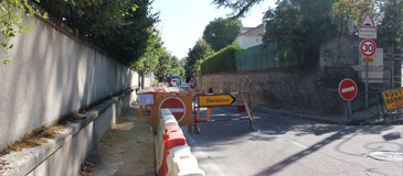 Travaux rue de Poissy : on touche au but ?