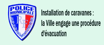 Quartier Fauveau : la Ville engage une nouvelle procédure d'évacuation des gens du voyage