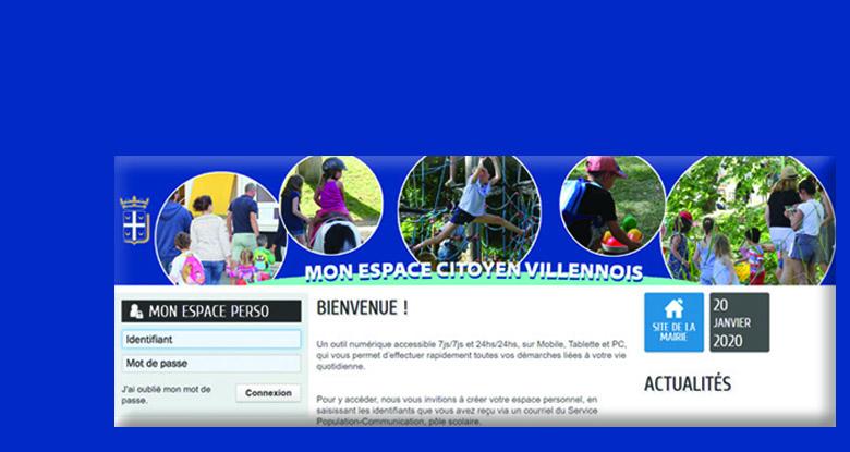 Inscriptions scolaires ouvertes via l'Espace Citoyen