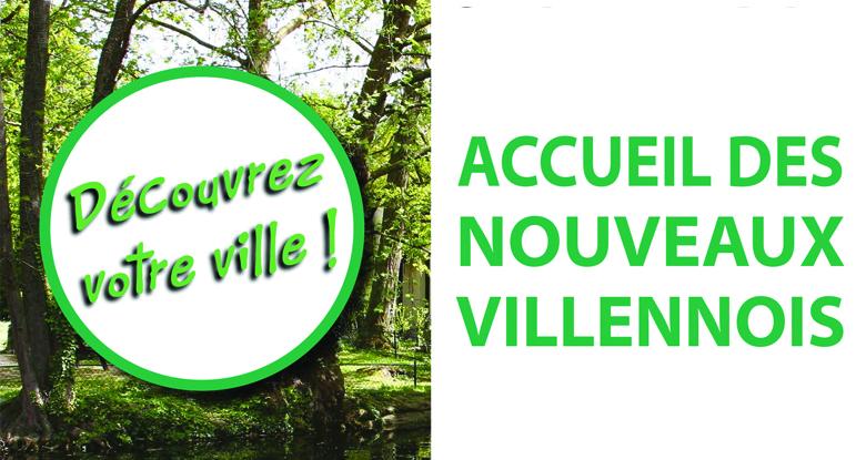 ACCUEIL DES NOUVEAUX VILLENNOIS - SAMEDI 28 SEPTEMBRE