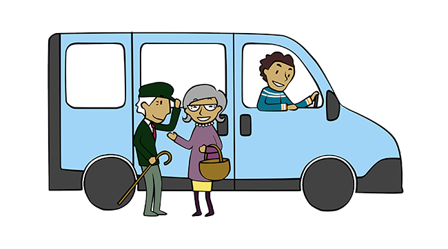 Transport gratuit pour les Aînés
