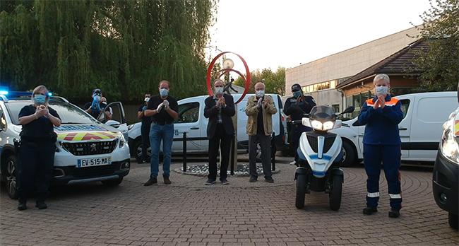 La Ville de Villennes-sur-Seine et la Protection Civile soutiennent les soignants