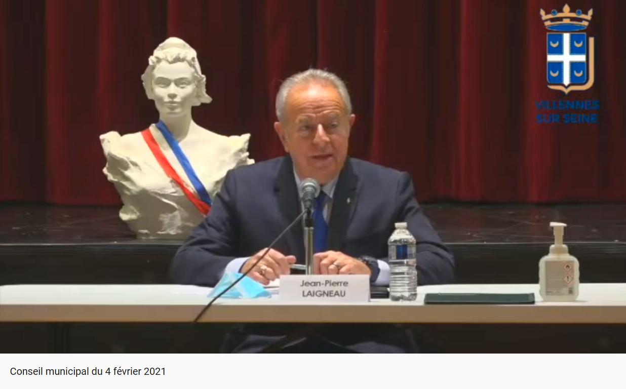 Conseil Municipal du 4 février 2021